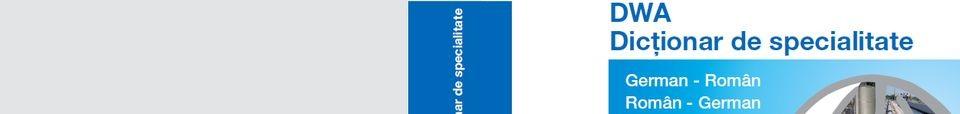 Dicționar de specialitate și dicționar în imagini DWA